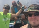 The best moments on the water aren't catching fish-It's the time spent with your buddies. Kevin-R.I.P.