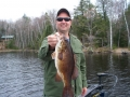 Turtle Flowage-Large spring smallie
